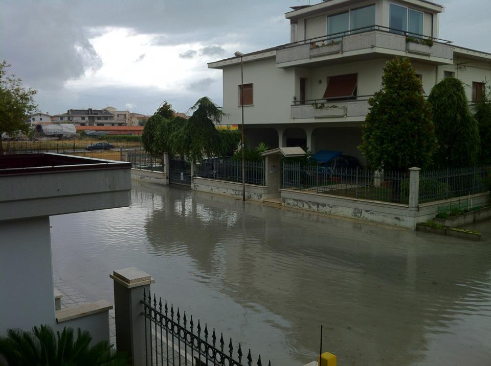Zona Agraria allagata, 22 luglio 2012 (foto di TIberio Travaglini)