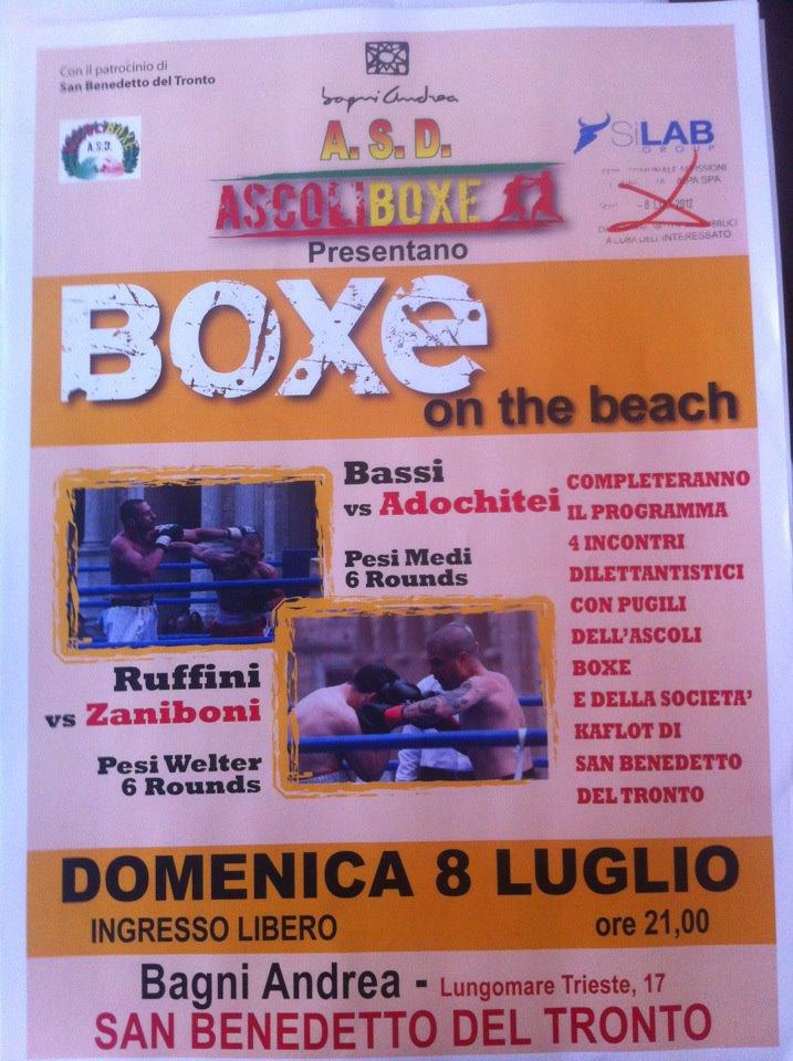 Boxe on the Beach