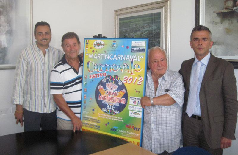 La conferenza stampa di presentazione del carnevale estivo
