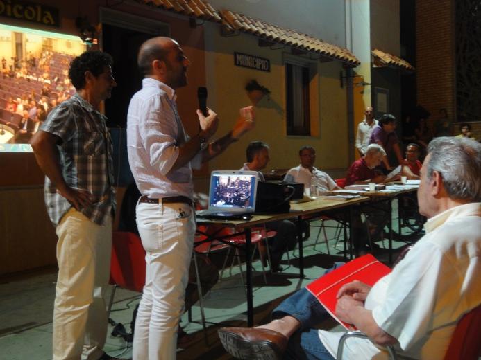 Paolo Canducci nel corso del suo intervento