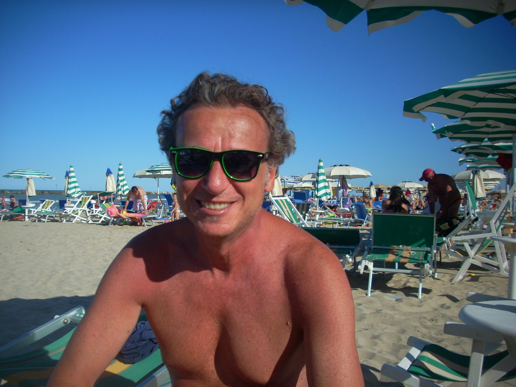 Sandro Sabatini allo chalet Brasil
