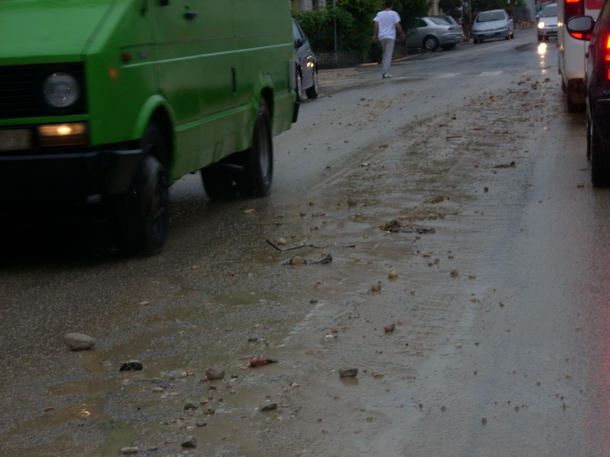 Le conseguenze della pioggia