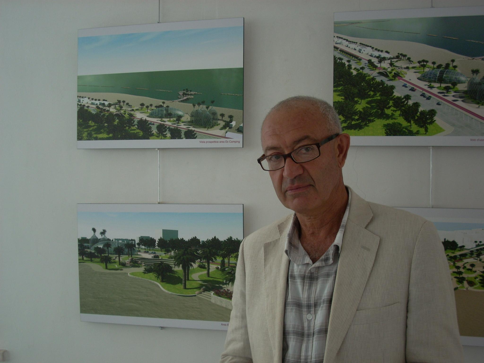 Farnush Davarpanah, autore del progetto nuovo lungomare nord
