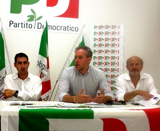 Da sinista: Pulcini Umberto, Antimo Di Francesco, Palmiro Ucchielli