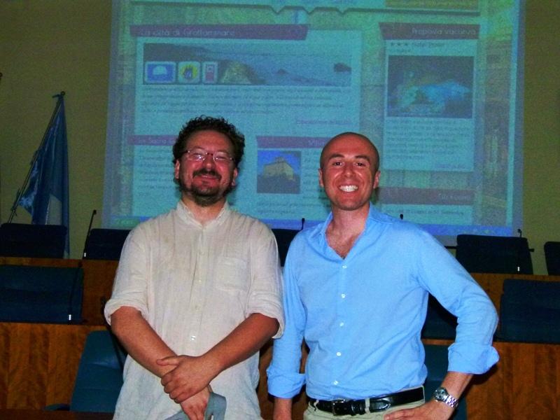 Da sinistra: Daniele Primavaera, Simone Splendiani