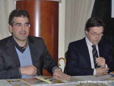 Da sinistra Umberto Scartozzi, Ugo Grossetti - immagini di repertorio