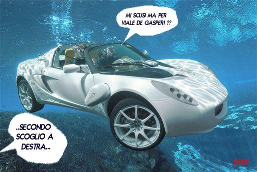 Domenica 22 luglio, immagini satiriche su Facebook sugli allagamenti a San Benedetto