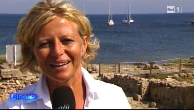 Donatella Bianchi a Linea Blu