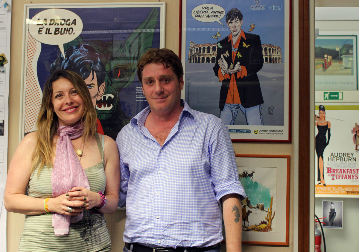 Raffaella Milandri e Davide Bonelli