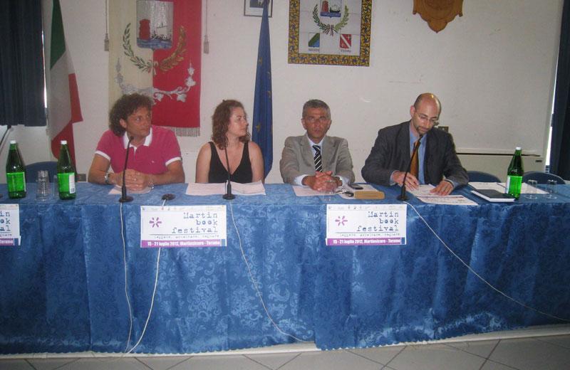 Matteo Bianchini, Valeria Di Felice, Paolo Camaioni e Boris Giorgetti
