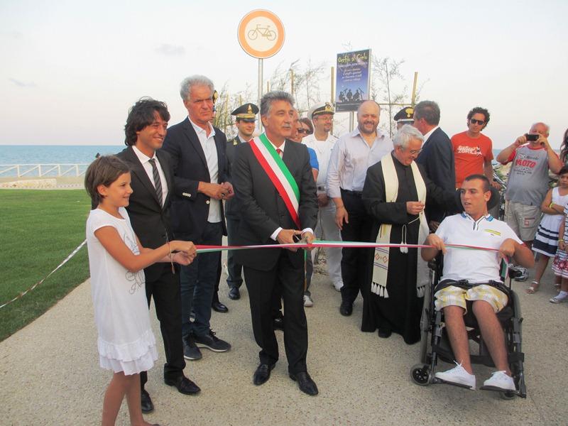 Inaugurazione lungomare tratto Torrente Tesino 2012  (27)