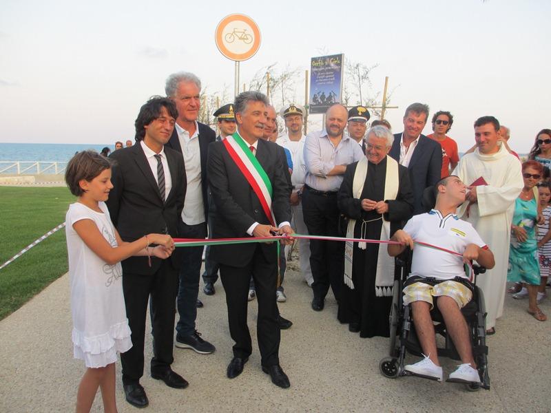 Inaugurazione lungomare tratto Torrente Tesino 2012  (28)