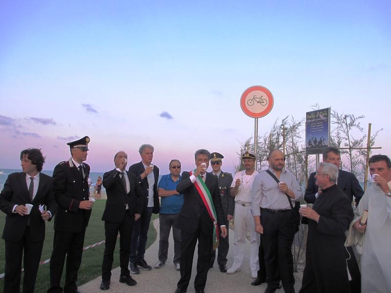 Inaugurazione lungomare tratto Torrente Tesino 2012  (32)