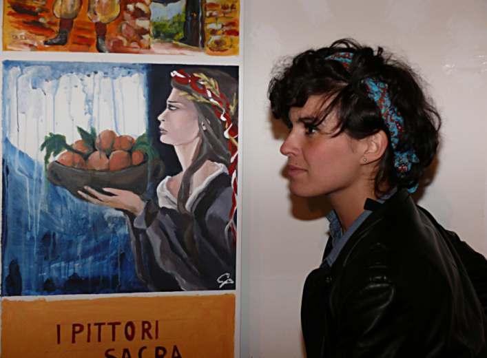 L'artista Cristina Persiani