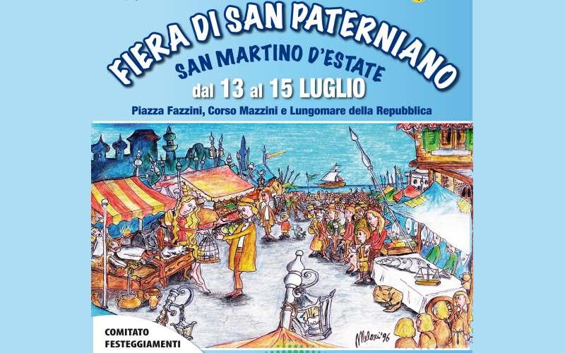 Manifesto Festa di San Paterniano 2012