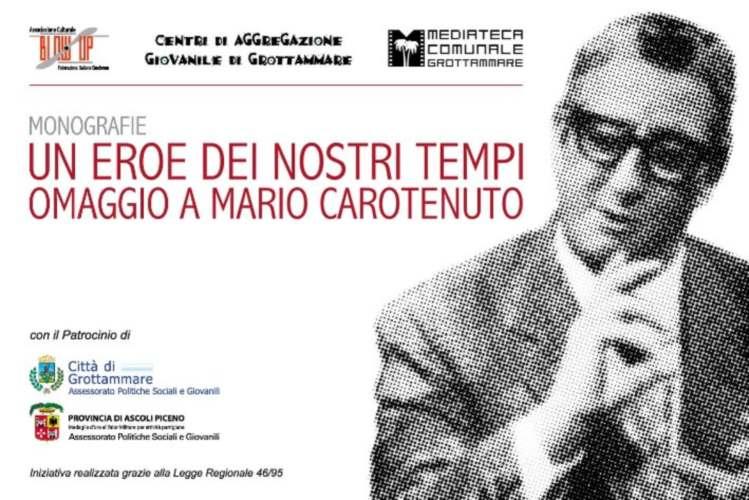 Mario Carotenuto locandina evento