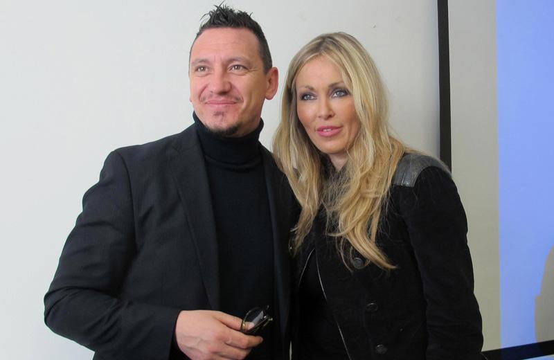 Marco Santarelli e Roberta Bruzzone