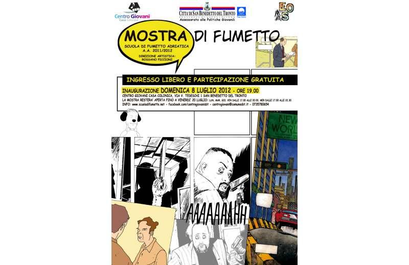 Mostra della Scuola di Fumetto Adriatica al Centro Giovani