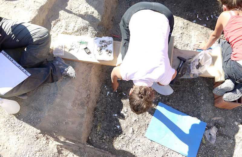 Ripresi gli scavi archeologici a Ripoli