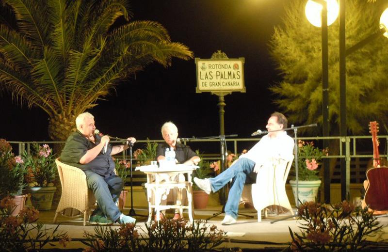 La presentazione di giovedì sera con il giornalista Antonio D'Amore e gli autori Gialuigi Gasparri e Carmelo Pistillo