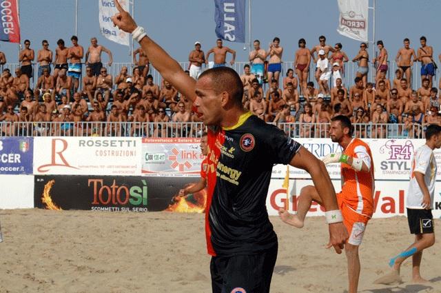 Tavares, della Samb Beach Soccer