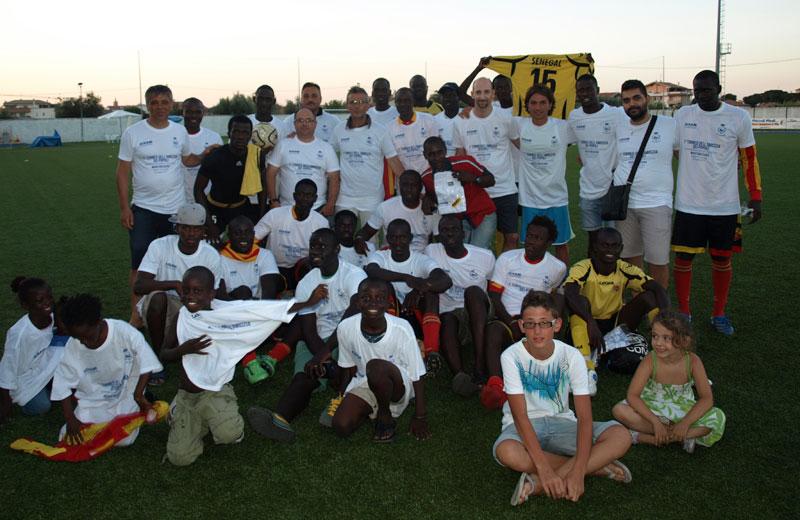Torneo di calciotto a Martinsicuro