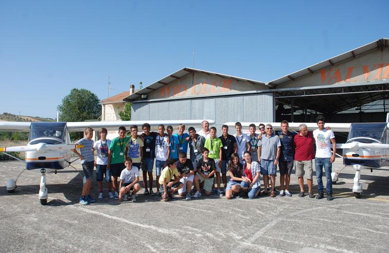 Lo stage di volo all'Avioclub Val Vibrata di Corropoli