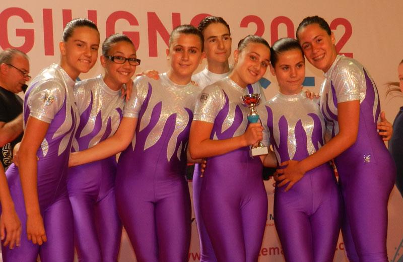 Squadra Ginnastica Villa Rosa - Junior A - Campione d'Italia 2012