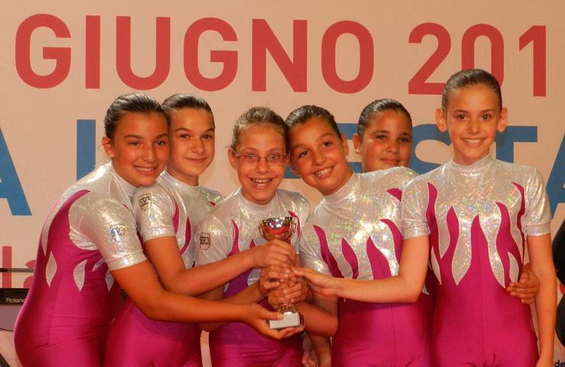 Squadra Ginnastica Villa Rosa - Allieve - Campione d'Italia 2012