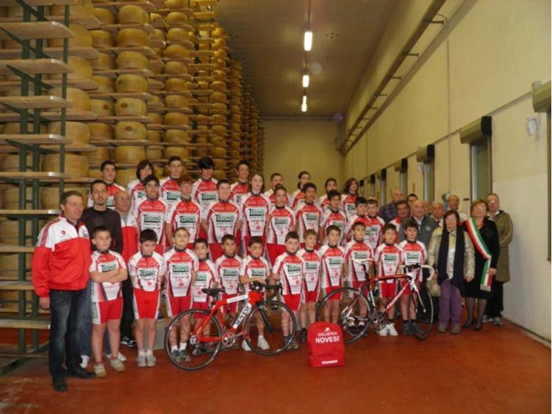 L'ASD Ciclistica Novese al completo