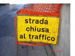 Chiusura al traffico