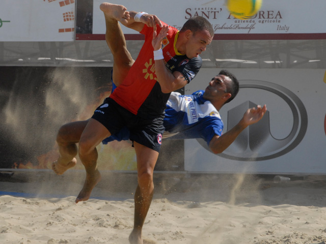 Samb Beach Soccer eliminata