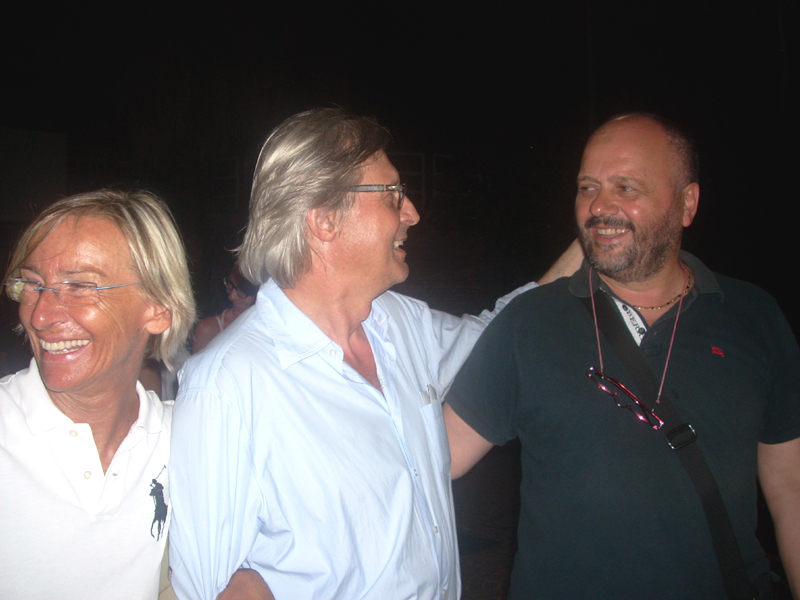 Vittorio Sgarbi all'Antico e le Palme
