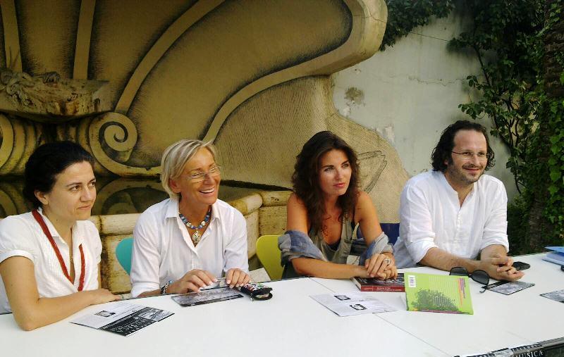 Da sinistra: Rita Virgili, Margherita Sorge, Vanessa Gravina, Federico Paci
