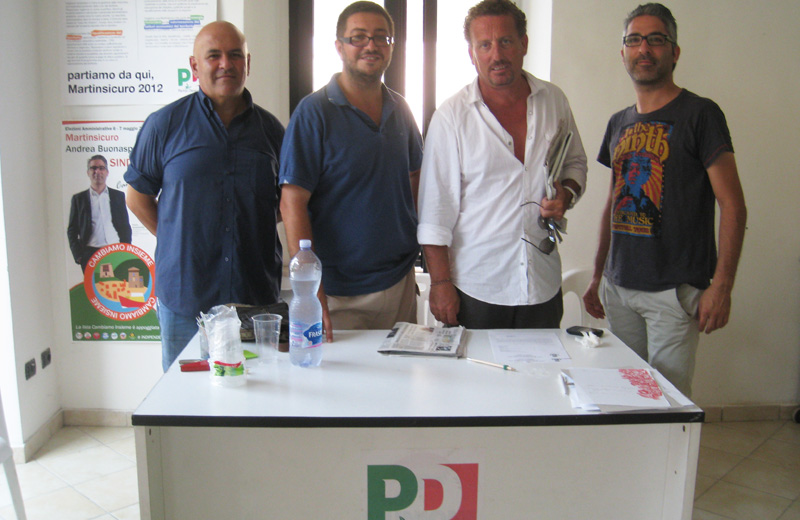 Mauro Paci, Giuseppe Capriotti, Giorgio Anedda, Andrea Buonaspeme