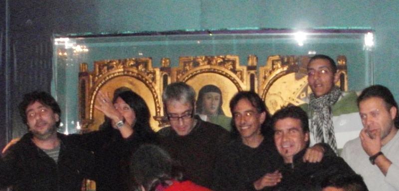 Il Crivelli con lo staff Argentino