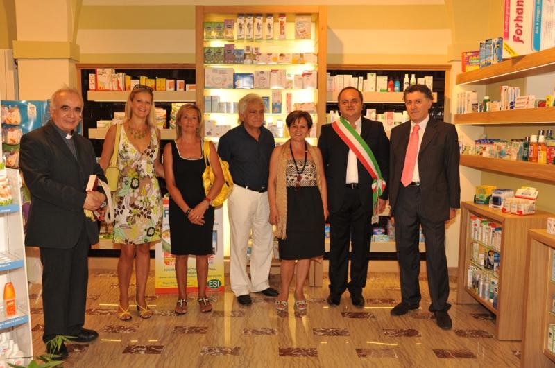 Inagurazione farmacia Comunale Montefiore 2012