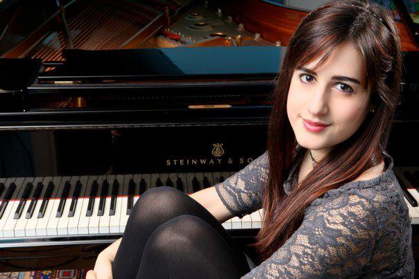 La giovanissima pianista Leonora Armellini