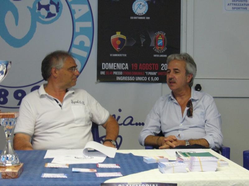 Roberto Marcucci e Marcello Rivosecchi