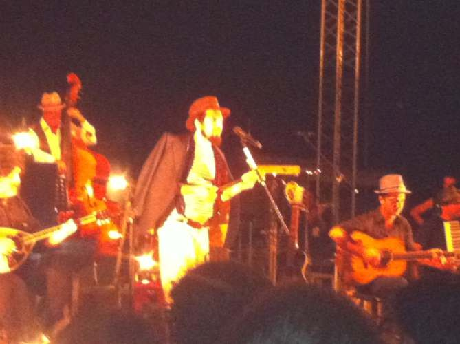 Vinicio Capossela in concerto per Open Sea 2012