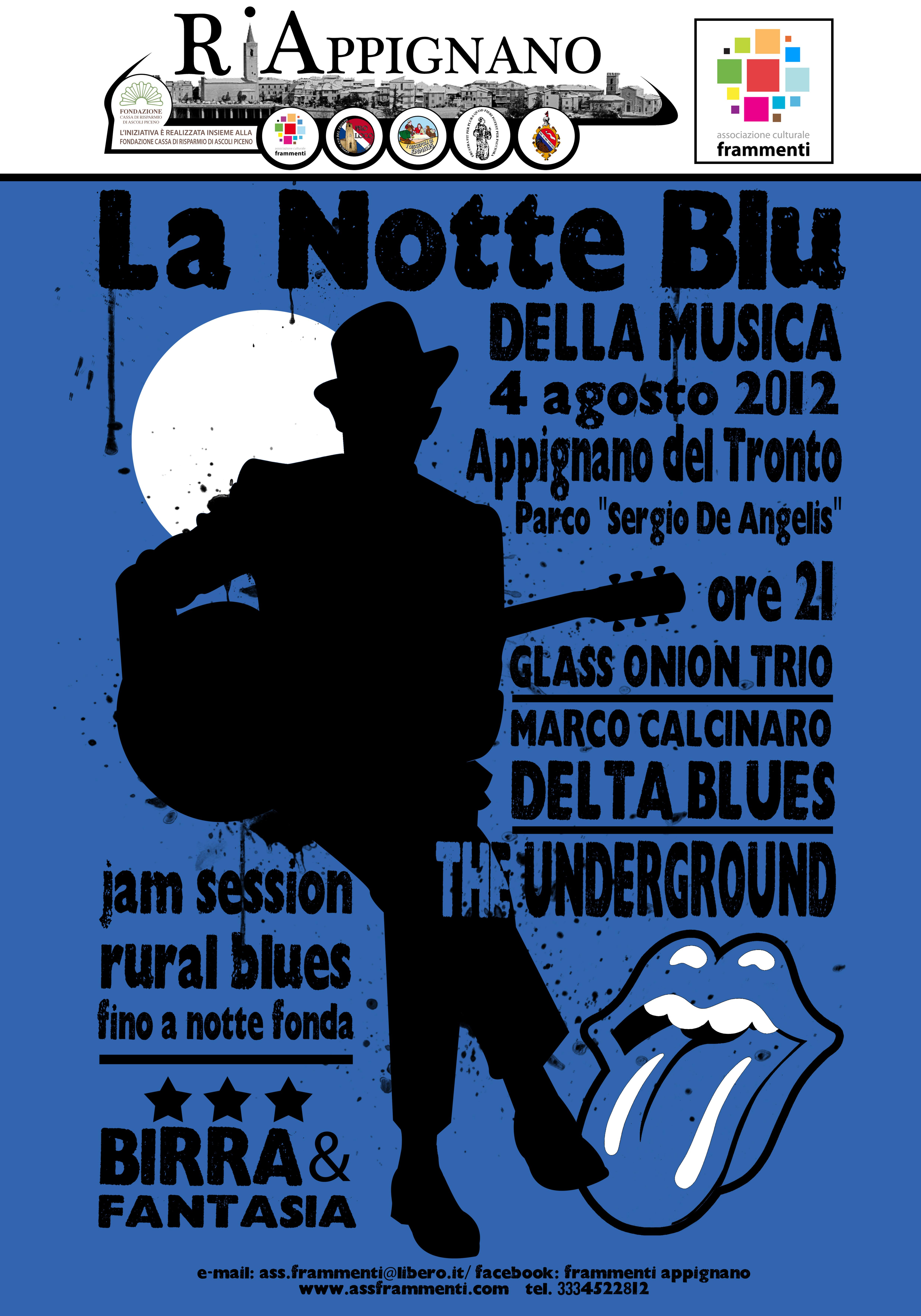 La notte blu della musica