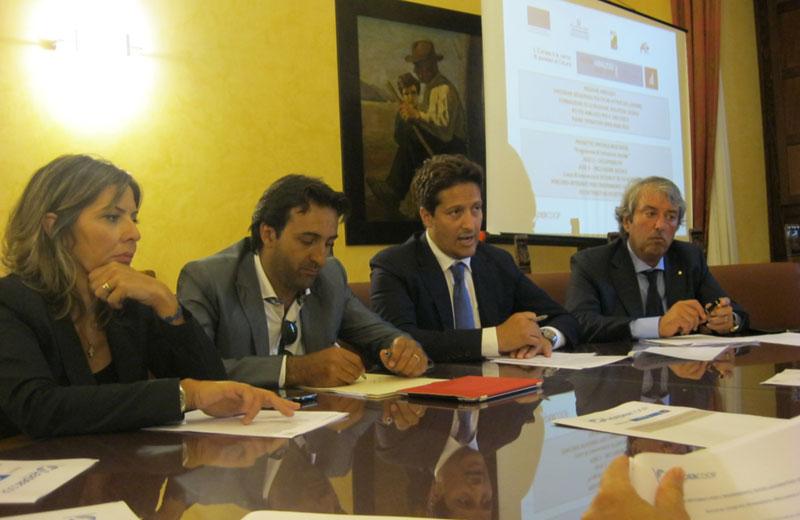La presentazione del progetto in Provincia di Teramo