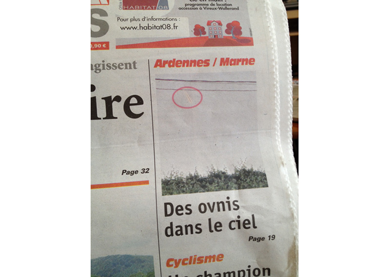 Un altro particolare su un altro giornale
