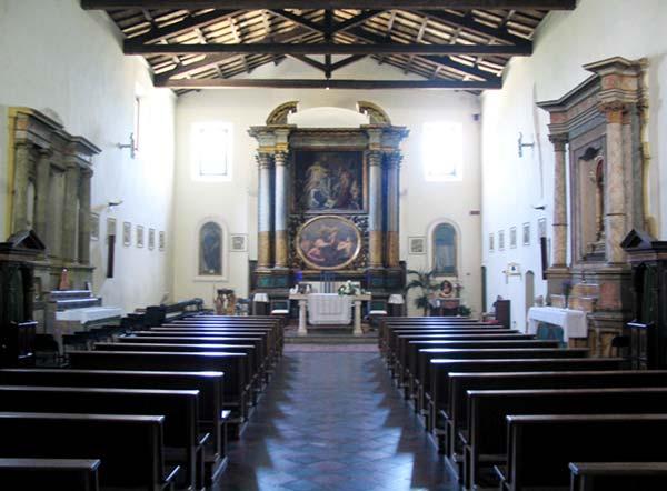 Chiesa di Sant'Agostino, interno  (fonte Google)