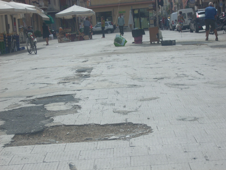 Piazza Montebello oggi