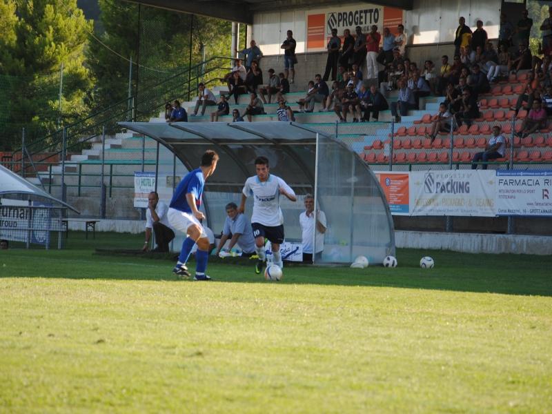 Grottammare Calcio in azione