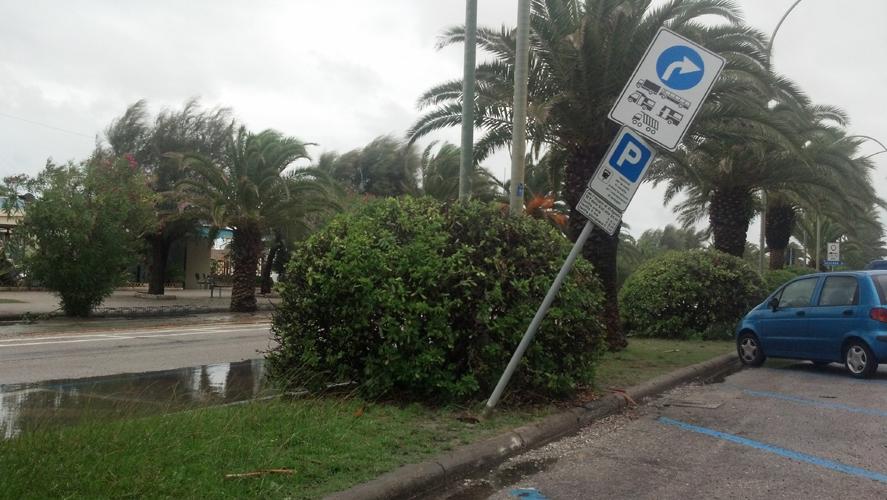 Danni del maltempo, 14 settembre 2012