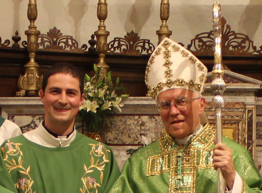 Gianni Capriotti e il Vescovo Gestori