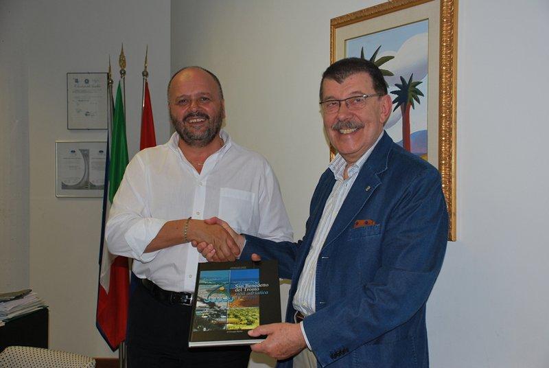 Giovanni Gaspari e Mauro Bignami