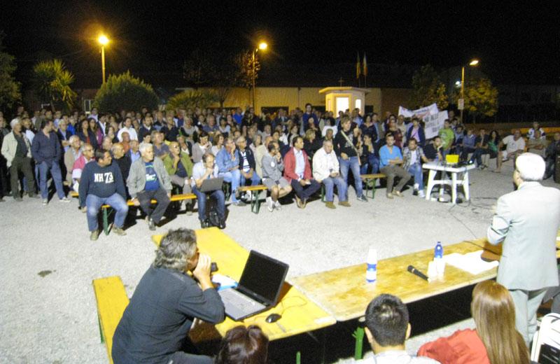 L'incontro tra l'amministrazione Pollastrelli e i cittadini
